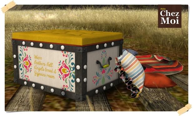 Gypsy box seat 4a