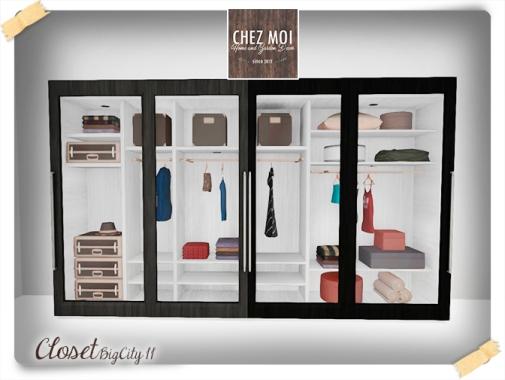 BigCity II Closet 1